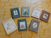 Job Lot Of 1st Edition Beatrix Potter Books 6 Plus 1 Other Good For Collectors