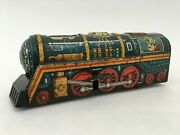 1930 Vintage Tin Toy Japan Locomotive Train Working Condition Collectible