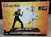 Karate Kid All Valley Championship Statue Daniel Larusso Vs Johnny Cobra Kai New