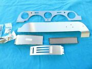 67 Shelby Gt350 Gt500 Mustang Brushed Aluminum Dash Kit