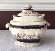 Antique 18th /early 19th C. Chamberlain Worcester Individual Tureen