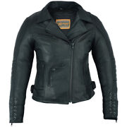 Womenandrsquos Rider Leather Jacket Must Ride Daniel Smart Ds802