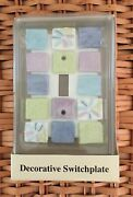 Pool Side Design - Decorative Switchplate - Single Toggle - New In Box
