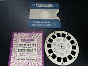 Snow White Andthe Seven Dwarfs 1946 Florence Thomas Viewmaster Ft-4 Booklet Y53