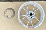 Bmw S1000rr 2009 -2018 Rear Wheel, Disc And Titanium Bolts With Side Air Inlet