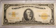 1922 Gold Certificate Large 10 Ungraded