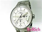 Ball Bmw Gm3010c Automatic Silver Dial Stainless Menand039s Watch From Japan [b0309]