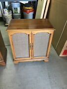 Magnavox Vintag Mid Century Console Stereo, Record Player, Dual Console/speaker