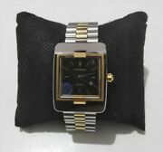 Century 20k Gold And Steel Ceramic Automatic 27mm Mens Vintage Watch