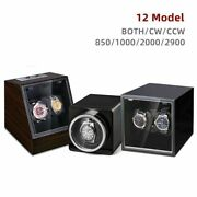 Watch Winder Storage Case Box For Automatic Watches Battery Power Operated Style