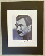 Tom Selleck Signed In-person Autograph Photo Display - Authentic, Magnum, P.i.