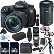 Canon Eos 7d Mark Ii Dslr Camera Intl Model Version +18-135mm F/3.5-5.6 Is Us