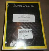 John Deere S670 Sts Self Propelled Combine Parts Manual 6 Book Catalog Pc10717