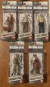Amc The Walking Dead Mcfarlane Toys Tv Series 6 Lot Of 5 Action Figures