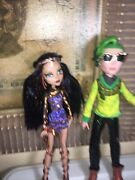 Monster High Deuce Gorgon And Cleo De Nile Boo York Comet- Couple No Emails/offe