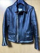 Vintage 2014 Spring Summer Undercover One Star Leather Riders Jacket Mens S Size