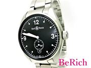 Bell And Ross Br123 Vintage Menand039s Black Dial Mk2450 From Japan N0310