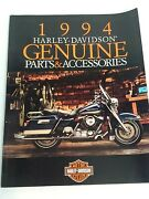 1994 Harley Davidson All Models, Genuine Parts And Accessories Full Color Catalog