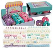 Pack Donut Birthday Party Theme Blowers And Plush Favors Noisemakers