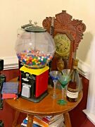 1950's Victor Gumball Vending Machine L.c. Topper - 1 Cent Coin Mechanism