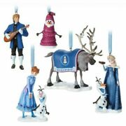 Disney Olaf's Frozen Adventure - Limited Edition Ornament Set Of 5
