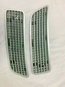 07-14 Mercedes W216 Cl550 S550 Front Left And Right Hood Air Vent Grille Gray And