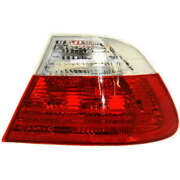 Tail Light For 15-16 Audi A3 Quattro Passenger Side Oe Replacement Led W/ Bulbs