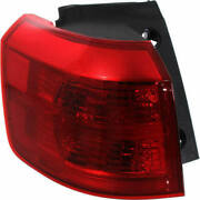 Tail Light For Acura Mdx 01-03 Passenger Side Oe Replacement Halogen W/o Bulbs