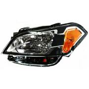 Headlight For Kia Soul 2010-2011 Driver Oe Replacement Halogen With Bulbs