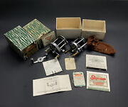 Vintage Pflueger Fishing Reel Lot 1573, 1893-l Cub 2542 W/ Accessories And Boxes