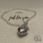 925 Sterling Silver Heart Bracelet Handmade Collection From Mexico Jewelry Her