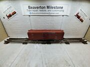 S Scale American Flyer 633 Bando Baltimore And Ohio Box Car Tuscan Freight