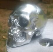 Chrome Hood Ornament Skull Semi/big Trucks Rat Rods Anything Other Colors Avail