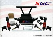 Sgc 6 Hd Coil-over Shocks A-arm Lift Kit For Club Car Ds Golf Cart 2004-2006