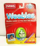 Vintage 90s 1995 Hasbro Playskool Weebles Boy New Old Stock Toddler Toy Nos