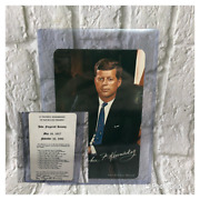 Very Rare Signed By Jfkand039s Mother John F. Kennedy Memorial Card Unique