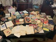 Large Lot Of Vintage Recipe Booklets Cookbooks And Recipes Books Free Shipping