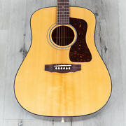 Guild D-40 Traditional Dreadnought Acoustic Guitar, Sitka Spruce Top B-stock