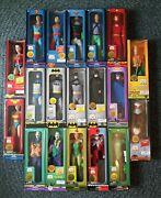 🔥 Set Of 19 Marty Abrams Presents Mego 14 Action Figures 14 P. Articulat. New