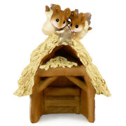 Wee Forest Folk Pageant Stable, Wff M-144, Nativity Mouse