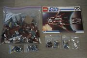 Lego Star Wars 7752 Count Dooku And039s Solar Sailer Complete W/ Manual Magna Guard