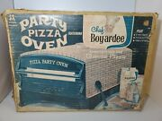 Vintage Multiple Toymakers Pizza Party Oven Chef Boyardee 1967 Original Box New