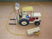 Ford 4000 Hd Forklift Tin Toy 35 Cm Made In Japan Antique 1960s From Japan Good