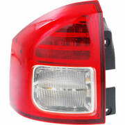 Taillight For Jeep Compass 2011-2013 Driver Side Oe Replacement Led W/bulbs