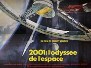 2001 A Space Odyssey - Original French Billboard - Very Rare Poster