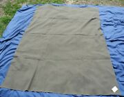 Vintage Green Military Blanket Navy Army Wool 54x78 Inches Wool Blend