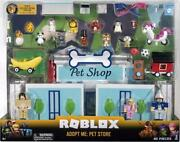 Roblox Adopt Me Pet Store Deluxe Playset With Accessories Exclusive Virtual Item