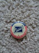 Vintage Buick Lapel Pin Red White And Blue Valve-in-head Buick Notros Cars