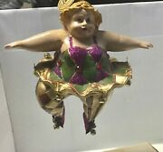 Katherineandrsquos Collection Chubby Ballerina Ornament Retired 4 1/2andrdquo X 3andrdquo As Is Blond