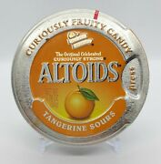Altoids Tangerine Sours Collectible Discontinued Tin Brand New Factory Sealed